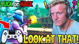 Tfue In DISBELIEF Spectating this CONTROLLER GOD..! He Thought He Was HACKING! - Fortnite Moments