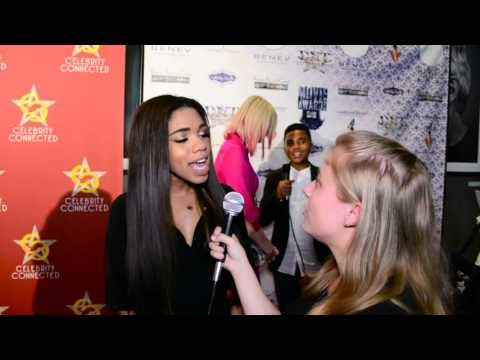 Teala Dunn Interview at Celebrity Connected MTV Movie Awards Suite