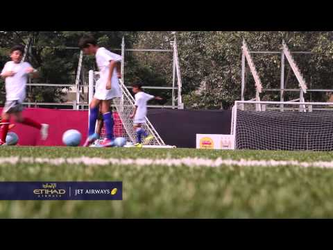 Etihad Airways & Jet Airways - Manchester City Football Club - India Coaching  Clinic