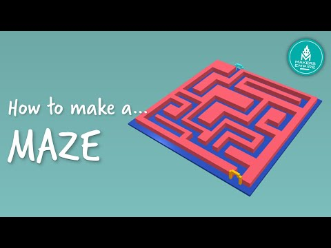 How to make a 3D printed maze using Makers Empire 3D - YouTube