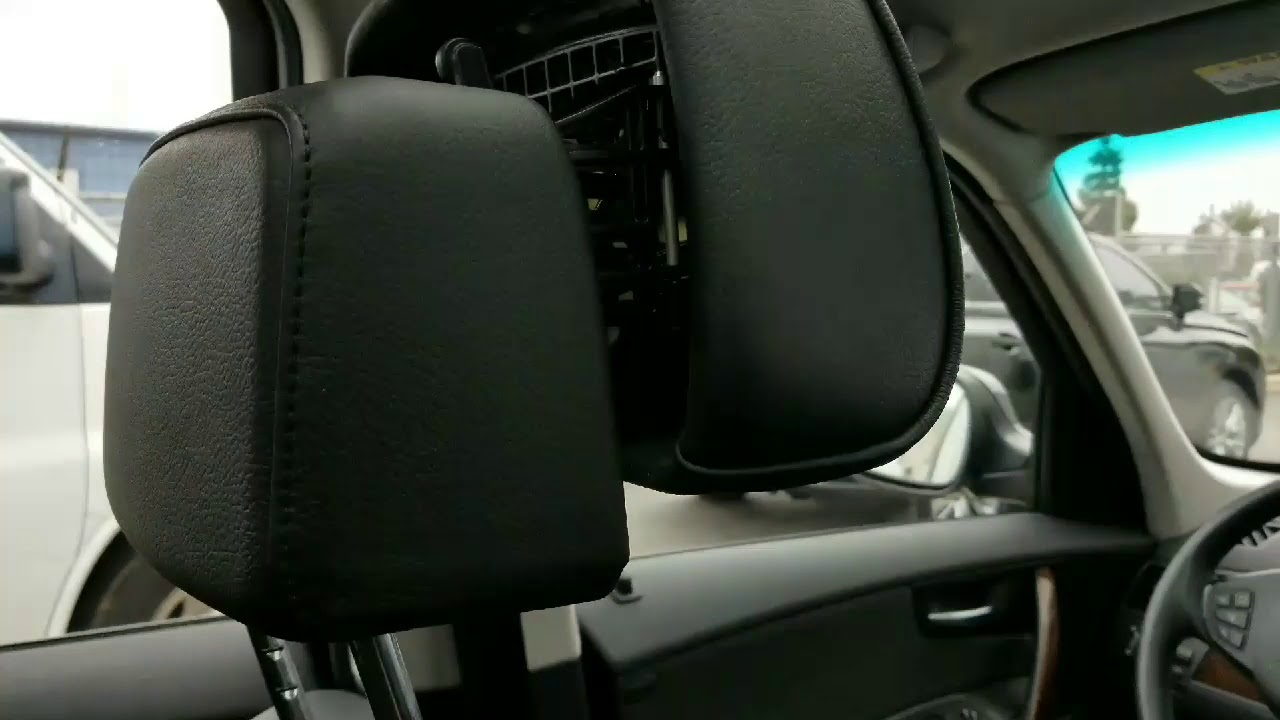 Bmw Headrest Repair Reset After Collision With Charge Unit