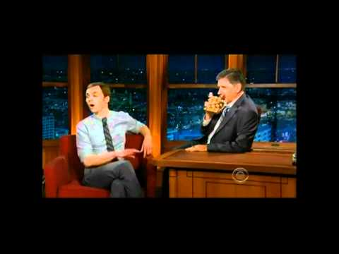 Jim Parsons Tiff with Geoff [Craig Ferguson] 2011 LOL