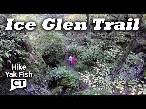 Hiking Ice Glen Trail in Stockbridge, MA - Berkshire Mountains