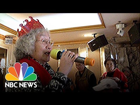 China's Elderly Sing The Praises Of Daytime Karaoke | NBC News