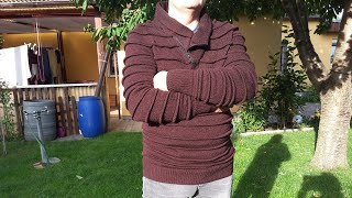 В'язання .Чоловічий светр, рукав. частина 3
