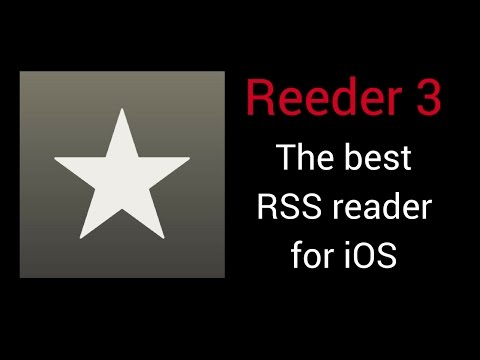 Reeder 3 - The best RSS reader for iOS