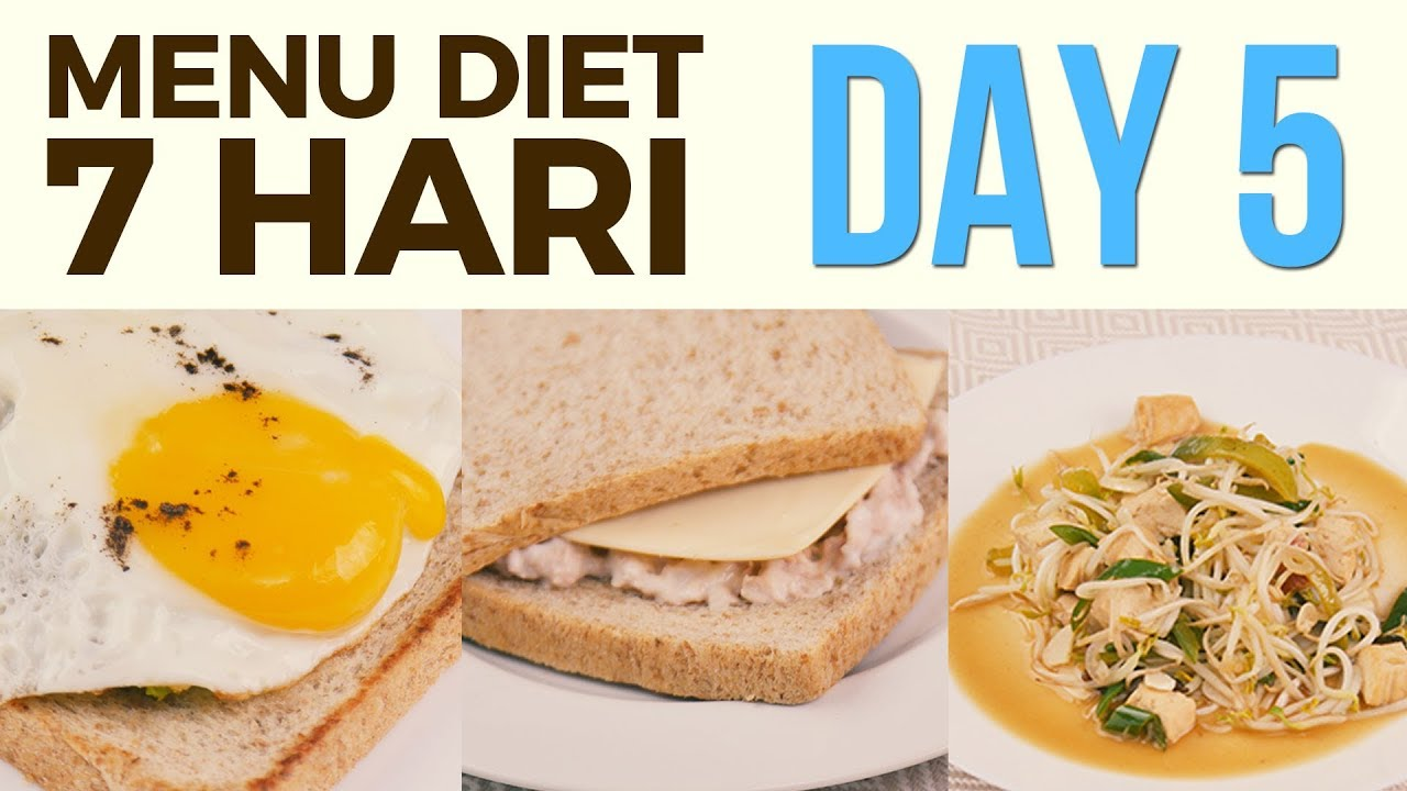 Menu Diet Sehat Seminggu untuk Menurunkan Berat Badan ...