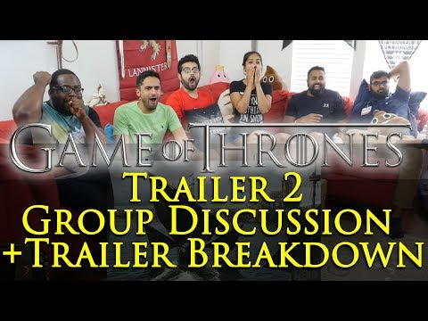 Game of Thrones - Trailer #2 - Group Reaction
