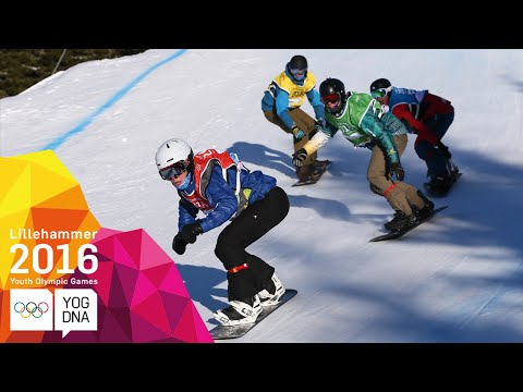 Snowboarding - Snowboard Cross - Full Replay | Lillehammer 2
