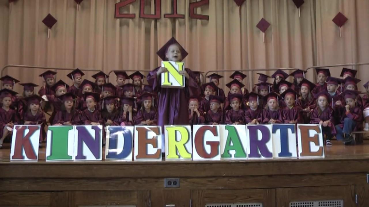 MES Kindergarten Graduation  6-14-12