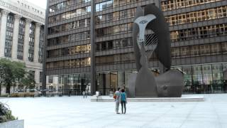 Chicago Picasso TimeLapse