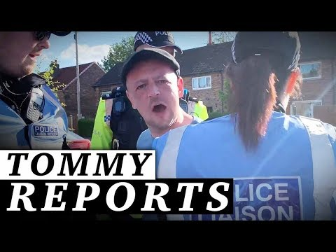 Tommy Robinson campaign: Man who threw brick in Preston arrested  Jessica Swietoniowski