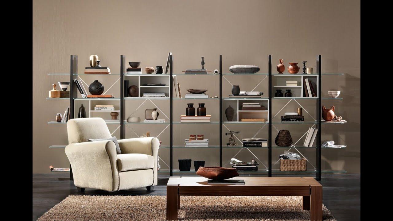 Proxima Wall System Bookcase By Natuzzi