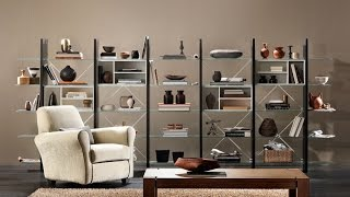 Proxima - Wall System & Bookcase By Natuzzi
