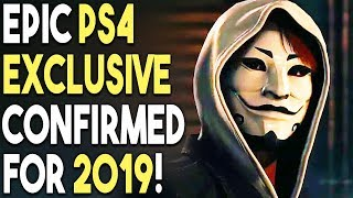 Epic PS4 Exclusive Confirmed for 2019 - You Need to Know About This Game!