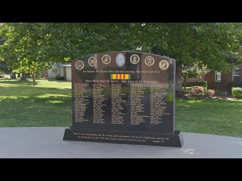 2017 Alumni Weekend - Vietnam Memorial Dedication