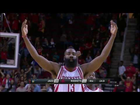 James Harden Crosses Over and Hits the...