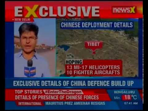 China enhancing war preparedness; build up of Chinese Air Force in Tibet near LAC