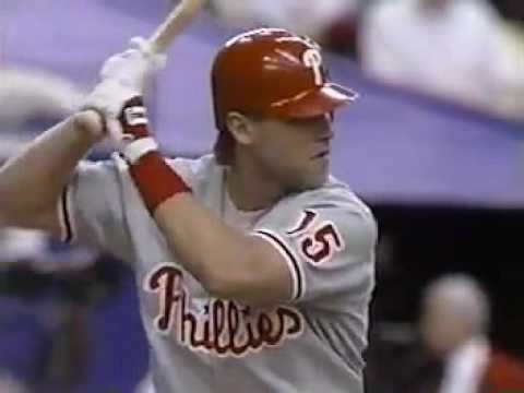 1993 MLB. Philadelphia Phillies vs Montreal Expos