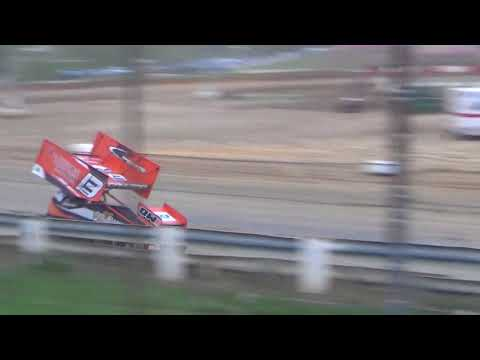 QUINCY RACEWAYS 305 SPRINT CAR FEATURE 5/6/18 (BRAYDEN GAYLORD 3RD TO 1ST)