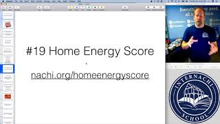 Home Inspection Tip #68:  Home Energy Score