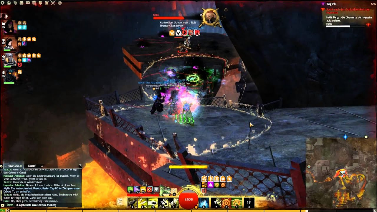 Guild Wars 2 Dungeon Guide: Umarmung der Betrübnis Weg 1 - YouTube