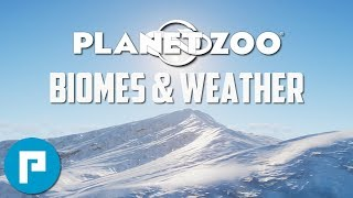 🌳 Planet Zoo | Biomes and Weather | A look at the Beautiful new Biomes & Weather Effects