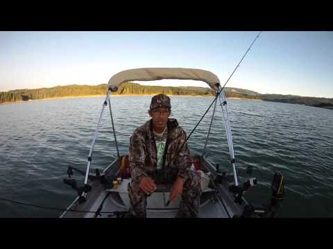 FISHING WITH MIKE-TUTORIAL ON CATCHING RAINBOW TROUT USING A DOWNRIGGER-HENRY HAGG LAKE