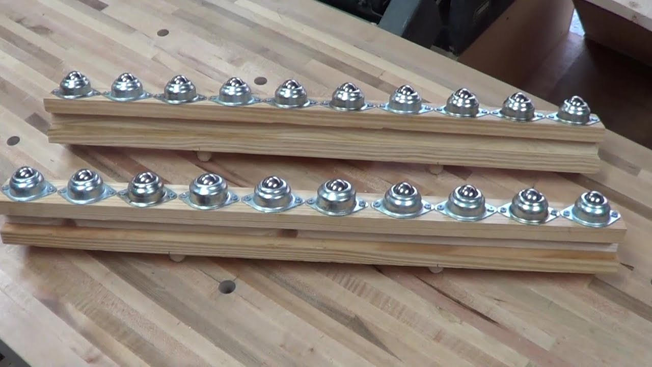 Quickies Table Saw Outfeed Rollers Youtube