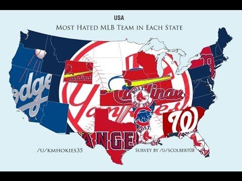 Top 10 Most Hated MLB Teams