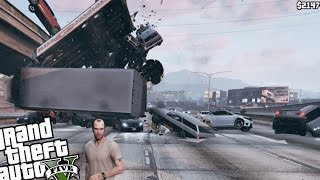 GTA 5 PC - The Unstoppable Force MOD!