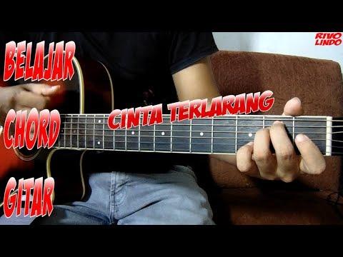 ILIR 7 - CINTA TERLARANG (TUTORIAL KUNCI CHORD GITAR ASLI MUDAH)