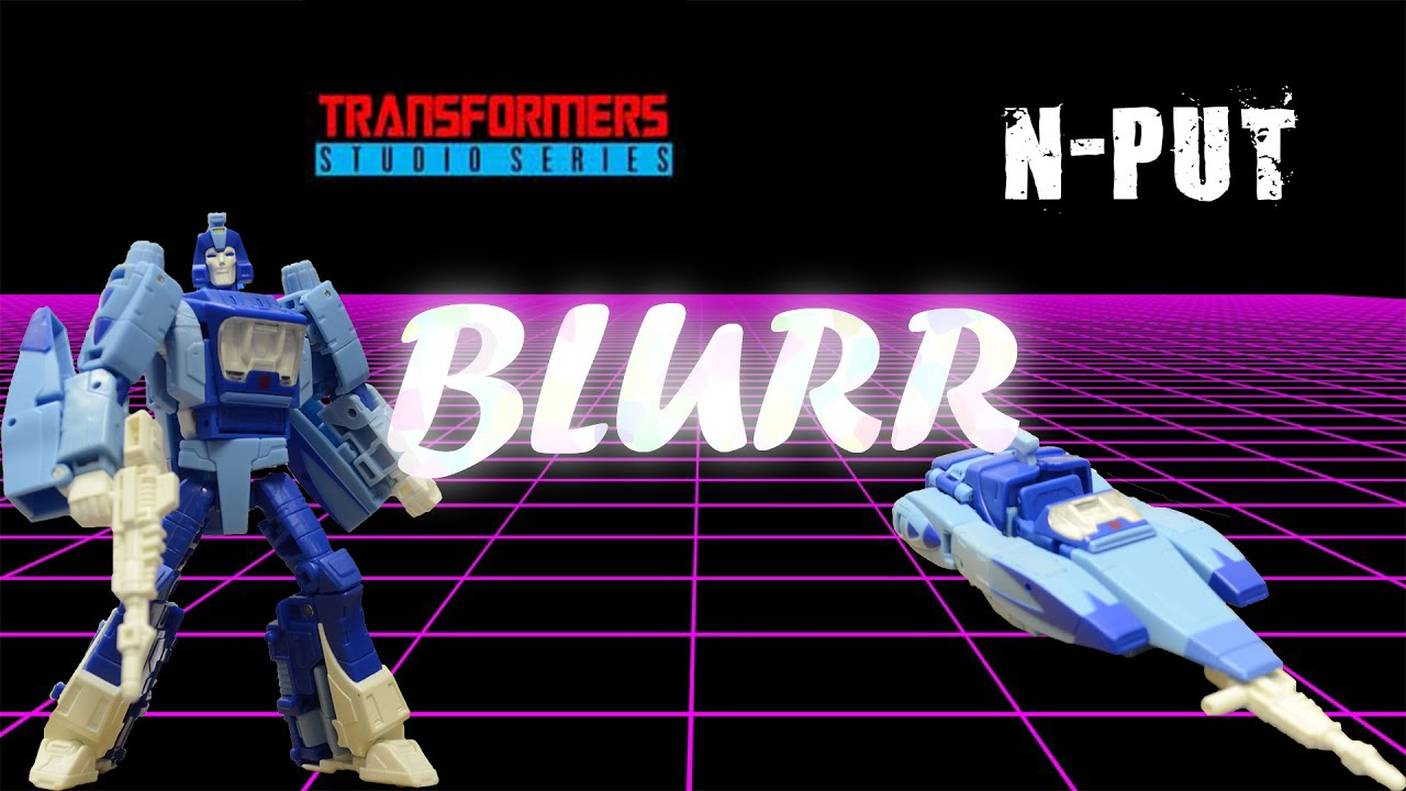Transformers Studio Series 86 Blurr Review by N-PUT