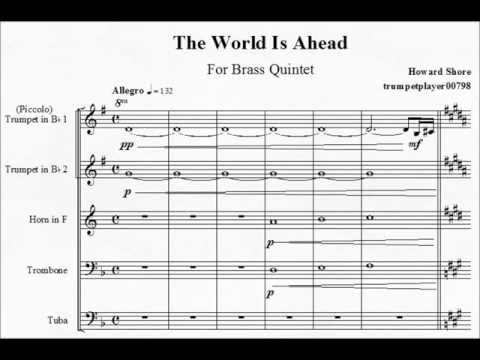 [HOBBIT: AUJ] The World Is Ahead - Brass Quintet
