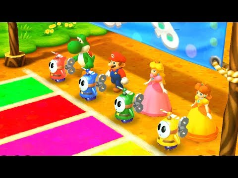 Mario Party: The Top 100 Minigames - Yoshi Vs Mario Vs Peach Vs Daisy