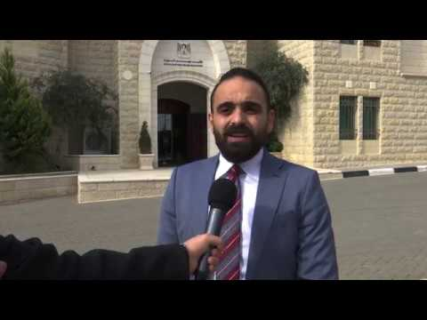 The Palestinian Government Cabinet Meeting Brief Statement 27-11-18 by PMO Spokesperson Ahmad Shami