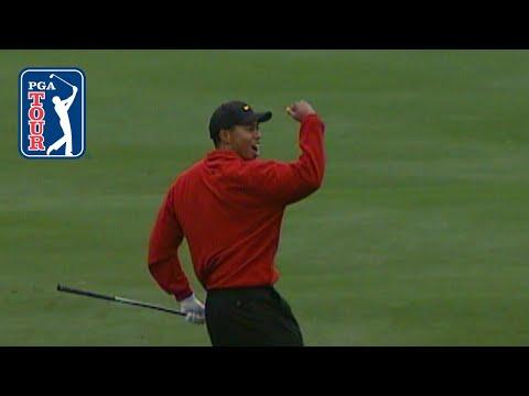 Tiger Woods 5-shot comeback at 2000 AT&T Pebble Beach Pro-Am