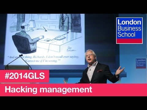 Hacking management - reinventing the technology of human accomplishment | London Business School