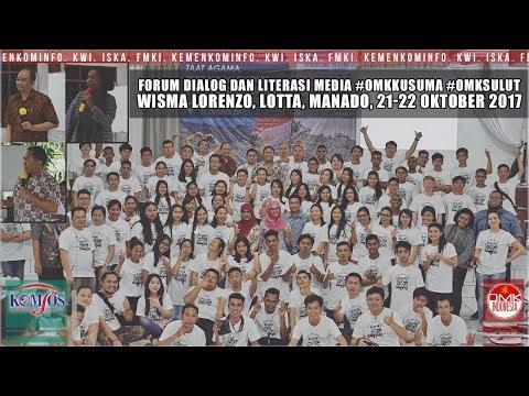Forum Dialog dan Literasi Media  - Manado