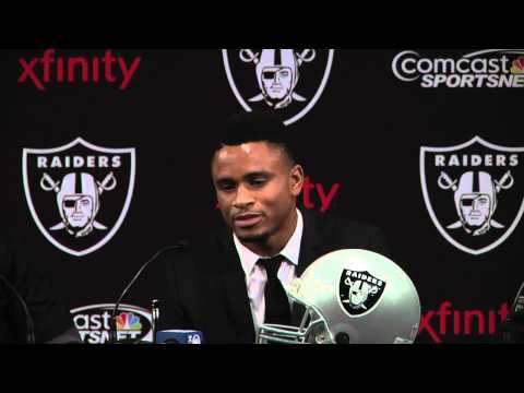 Nnamdi Asomugha Retirement Press Conference