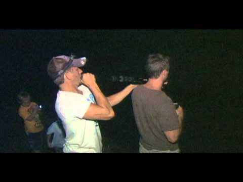 Cold Steel Blowgun Frog Hunting