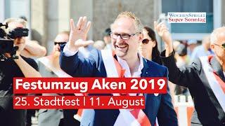 Festumzug Aken 2019 - 25. Stadtfest