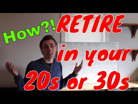 How Anyone can Retire in Their 20s or 30s..The Math Behind Retiring Early