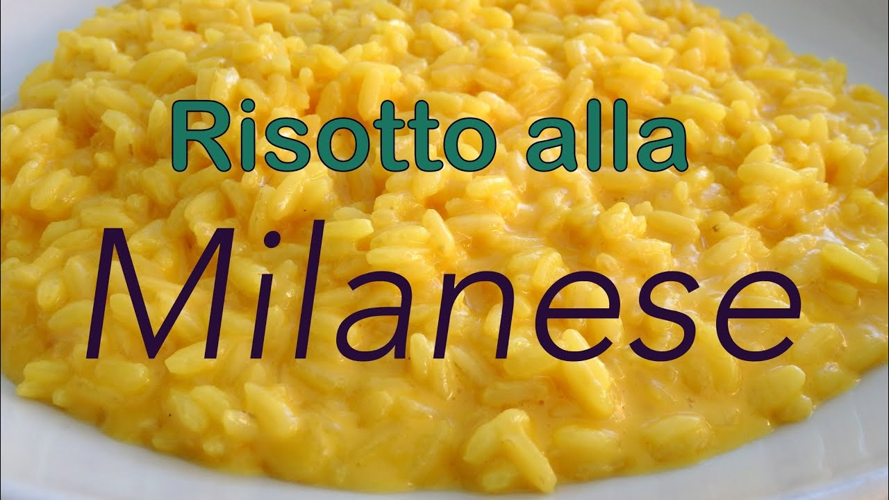Risotto alla milanese in milan italy youtube for Best risotto in milan