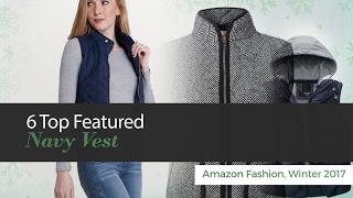 Top Featured Navy Vest Amazon Fashion Winter