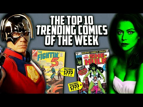 CRAZY Comic Book Speculation Causing MAJOR SALES! The Top 10 Trending Comics In The Market This Week