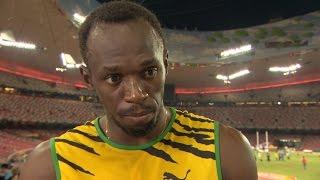 WHC 2015 Beijing - Usain Bolt JAM 100m Final Gold