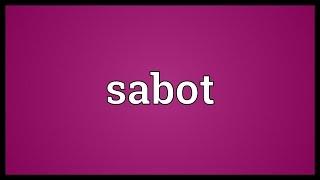 Sabot Meaning