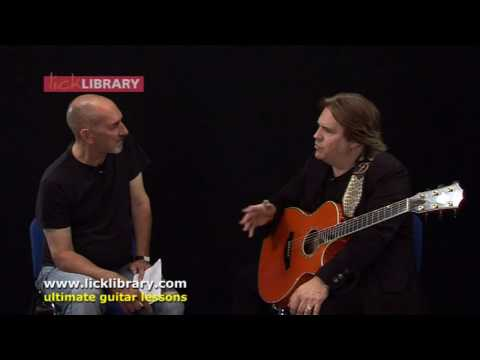 Doyle Dykes Country Blues Guitarist Interview with Lick Library