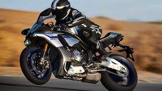 new 2015 yamaha r1 m sound and on track